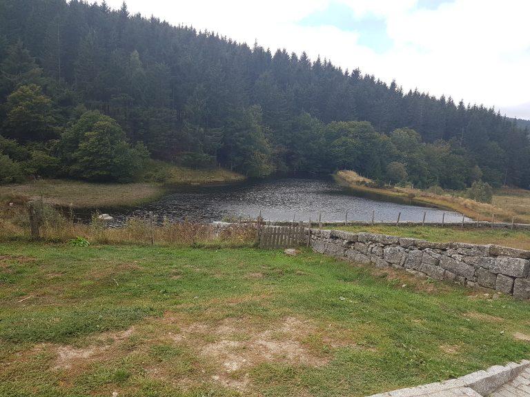 Domaine du Sauvage lake