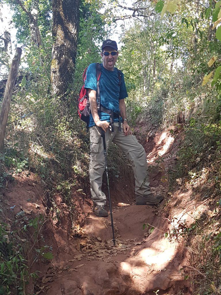 climbing from  Saint Pierre de Bessuéjouls