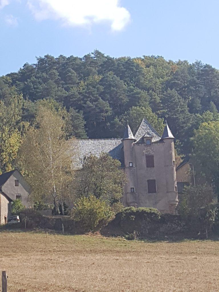 Verrières (in Aveyron) village