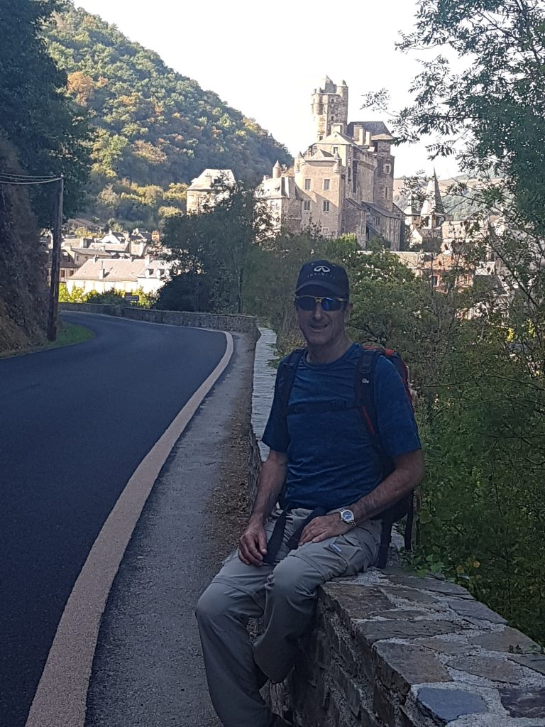 the road to Estaing