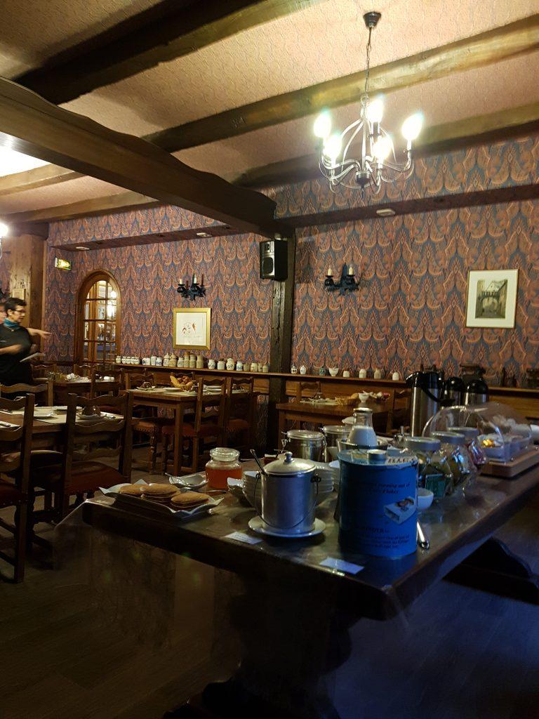 AubergeSt Fleuret dining room