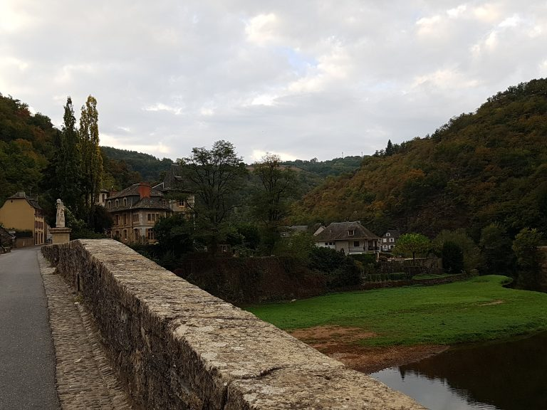 Estaing bridge