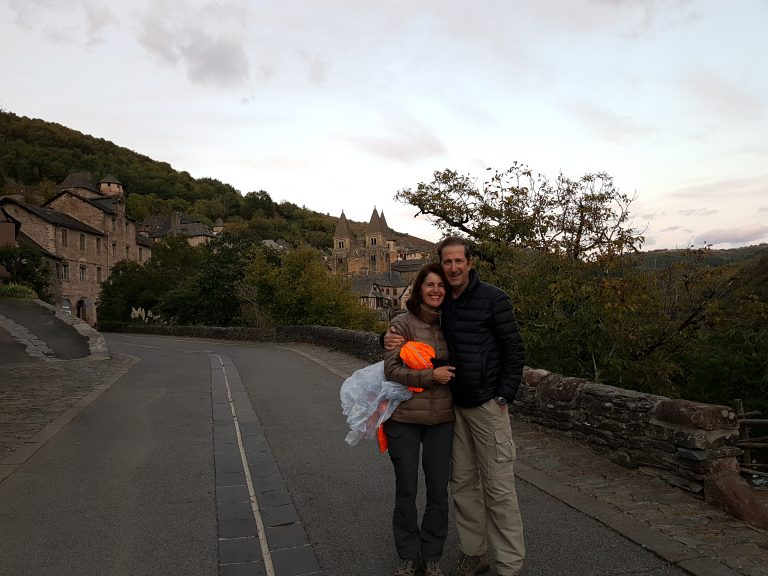 October in Conques