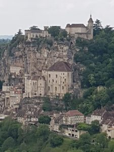the view of Rocamadour