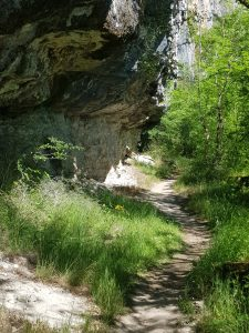 Gr651 near cliff