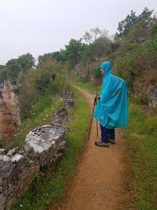climbing from Marcilhac sur cele