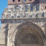 Moissac abbey facade