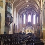 inside Moissac abbey