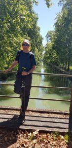 Doron on the bridge