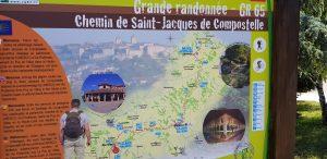 Chemin de saint Jacques