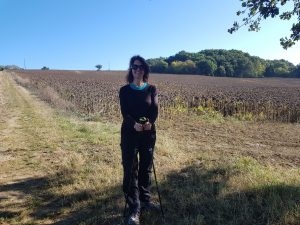 me among fields